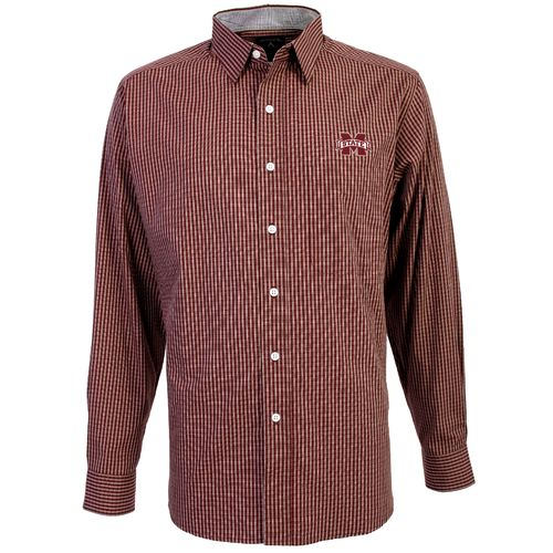 Antigua Men's Mississippi State University Division Dress Shirt
