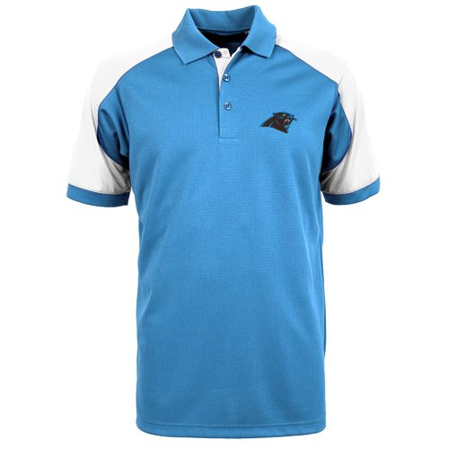 Antigua Men's Carolina Panthers Century Polo Shirt