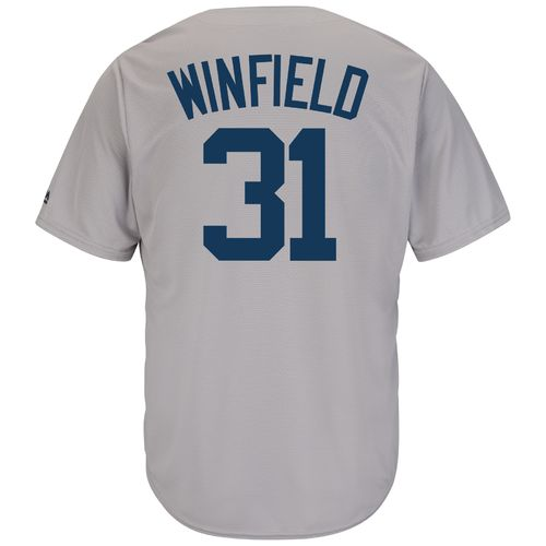Top Majestic Men's New York Yankees Dave Winfield #31 Cool Base Cooperstown Jersey hot sale