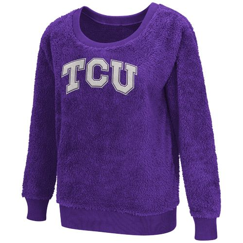 G-III for Her Women's Texas Christian University Sherpa Guide Pullover
