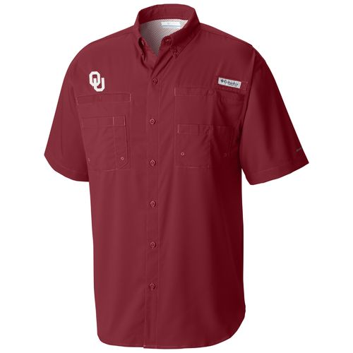 Columbia Sportswear Men's University of Oklahoma Tamiami Shirt