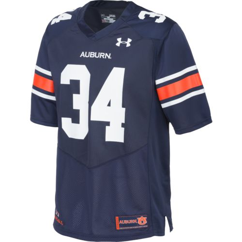 Under Armour™ Men's Auburn University #34 Replica Home Football Jersey