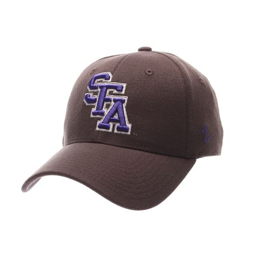 Zephyr Men's Stephen F. Austin State University Charcoal Flex Cap