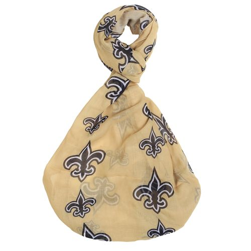 Forever Collectibles™ Women's New Orleans Saints Team Logo Infinity Scarf