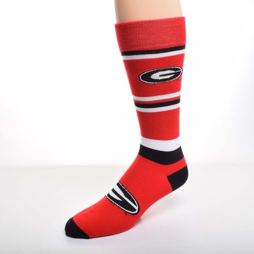 For Bare Feet Men's University of Georgia Dress Socks