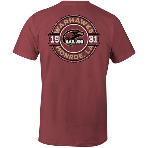 Image One Men's University of Louisiana at Monroe Rounds Comfort Color T-shirt