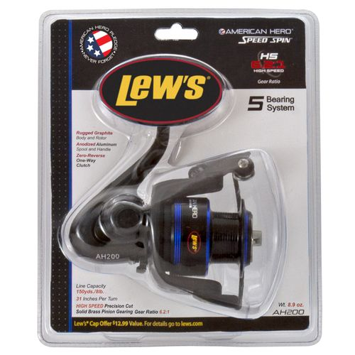 Lew's American Hero 200C Spinning Reel Convertible - view number 3