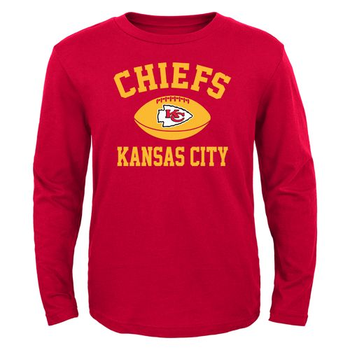 NFL Boys' Kansas City Chiefs Long Sleeve T-shirt