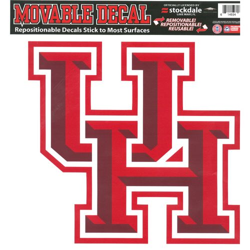 Stockdale University of Houston Interlock Logo Decal
