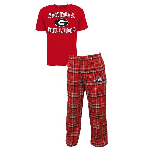 Concepts Sport™ Men's University of Georgia Tiebreaker Shirt and Pant Set