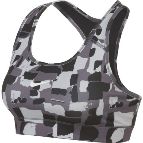 Nike™ Women's Victory Compression Brushed Check Sports Bra