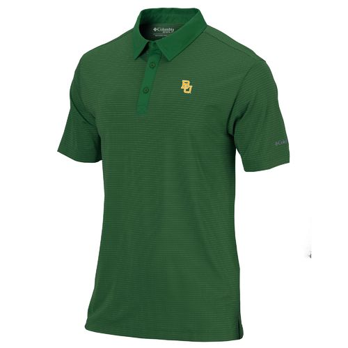 Columbia Sportswear™ Men's Baylor University Omni-Wick™ Sunday Polo Shirt