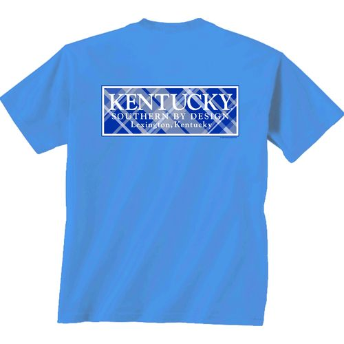 New World Graphics Women's University of Kentucky Team Madras T-shirt