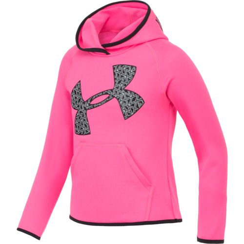 Under Armour™ Little Girls' Armour Fleece Jumb Big Logo Hoodie