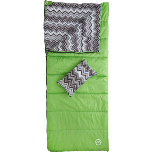 Magellan Outdoors Girls' Chevron Sleeping Bag Combo