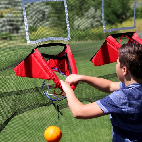 Skywalker Trampolines Double Basketball Hoop for 15' Trampolines - view number 9