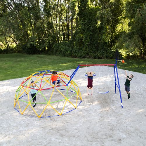 Skywalker Sports Geo Dome and Swing Set Combo - view number 3