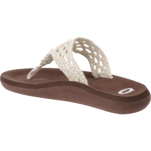 O'Rageous Women's Crochet Thong Sandals - view number 3