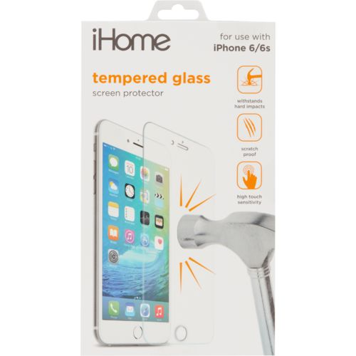 iHome Tempered Glass for iPhone® 6/6s