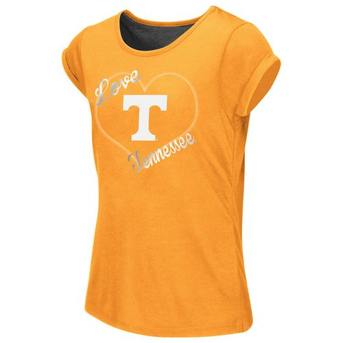 Colosseum Athletics™ Girls' University of Tennessee Baywatch Split Back T-shirt - view number 1