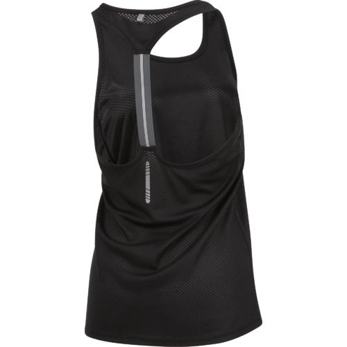 BCG Women's Solid Elastic Racerback Running Tank Top - view number 2