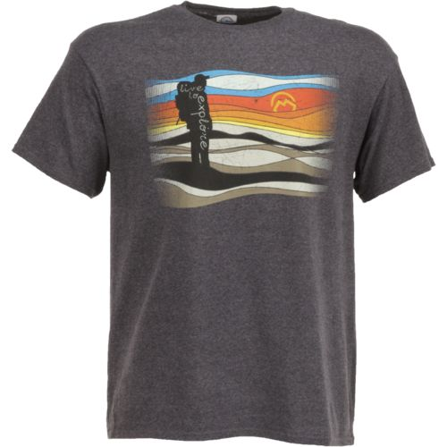 Magellan Outdoors Men's Live to Explore Hiker T-shirt