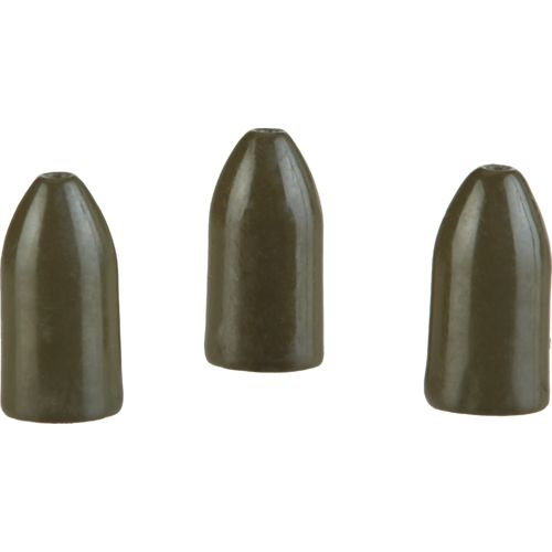 H2O XPRESS 3/8 oz Tungsten Bullet Weights 3-Pack