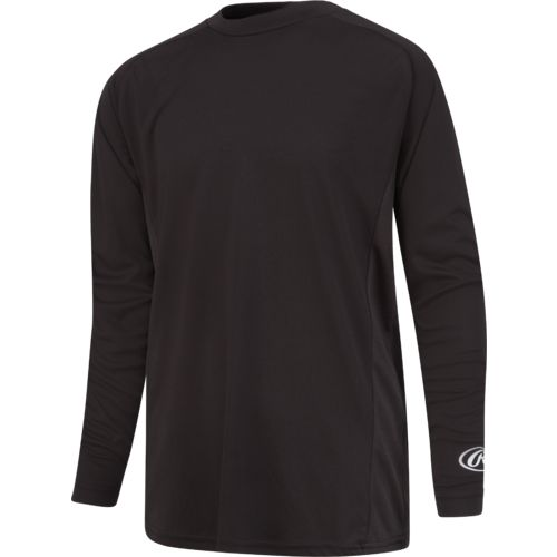 Rawlings Young Men's Long Sleeve Performance Shirt - view number 3