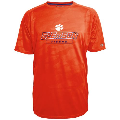 Champion™ Men's Clemson University Impact Embossed T-shirt - view number 1