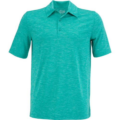 Display product reviews for BCG Men's Golf Tru-Wick Heather Short Sleeve Polo Shirt