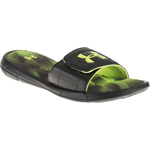 Under Armour Boys' Ignite Banshee III Slides - view number 2