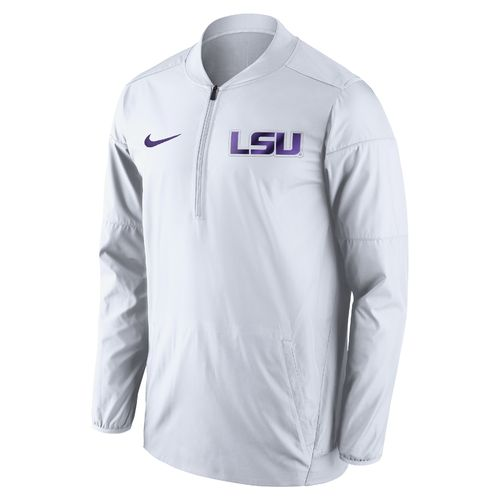 Nike Men's Louisiana State University Lockdown 1/2 Zip Jacket