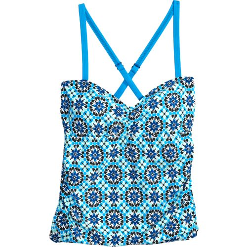 Next Women's Balance Soft Cup Shirred Bandini Swim Top