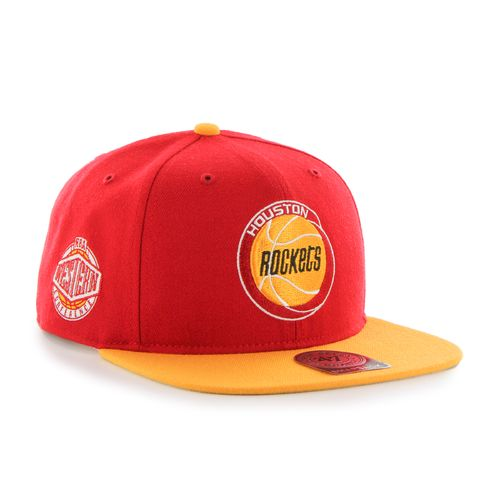 '47 Adults' Houston Rockets Sure Shot 2-Tone Captain Cap - view number 3