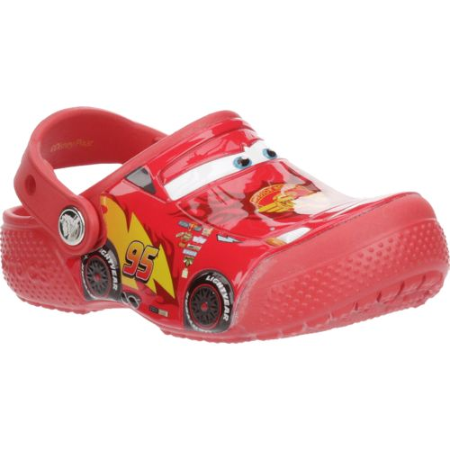 Crocs™ Boys' FunLab Cars K-Flame Clogs - view number 2