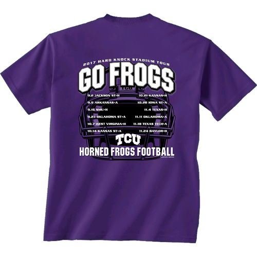 New World Graphics Men's Texas Christian University Football Schedule '17 T-shirt