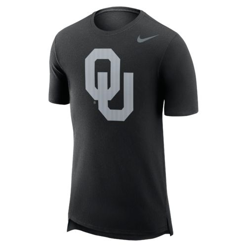 Nike Men's University of Oklahoma Enzyme Droptail T-shirt - view number 1