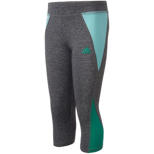 adidas Girls' climalite Capri Tight