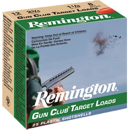 Remington Gun Club Target Load 12 Gauge 8  Shotshells - view number 1