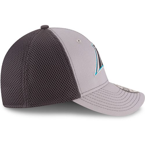 New Era Men's Carolina Panthers Grayed Out Neo 2T 39THIRTY Cap - view number 5