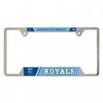 WinCraft Kansas City Royals Metal License Plate Frame - view number 1