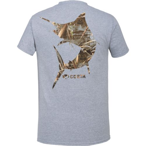 Costa Del Mar Men's Camo Marlin Short Sleeve T-shirt