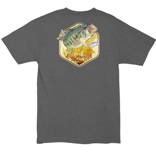 Guy Harvey Men's Lancer Pocket T-shirt - view number 4
