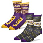 For Bare Feet Men's Louisiana State University Father's Day Socks - view number 1
