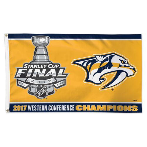 WinCraft Nashville Predators 2017 NHL Western Conference Champions Deluxe Flag