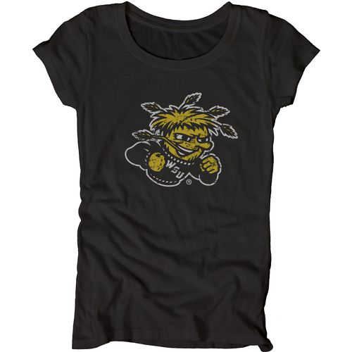 Blue 84 Juniors' Wichita State University Mascot Soft T-shirt
