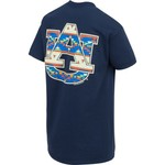 New World Graphics Women's Auburn University Logo Aztec T-shirt - view number 2