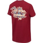New World Graphics Women's University of South Carolina Logo Aztec T-shirt - view number 2