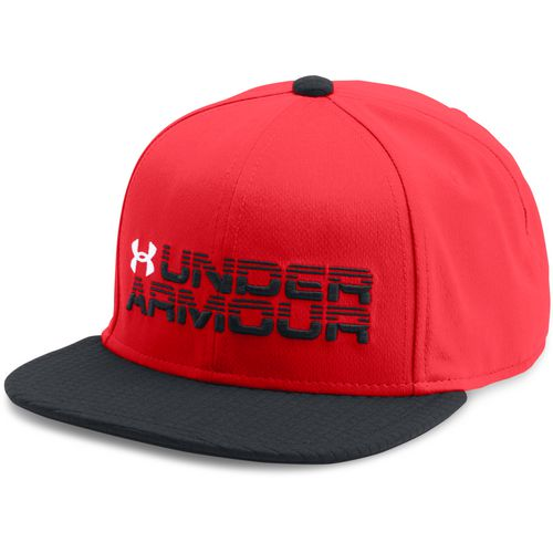 Under Armour Boys' Novelty Flat Brim Cap