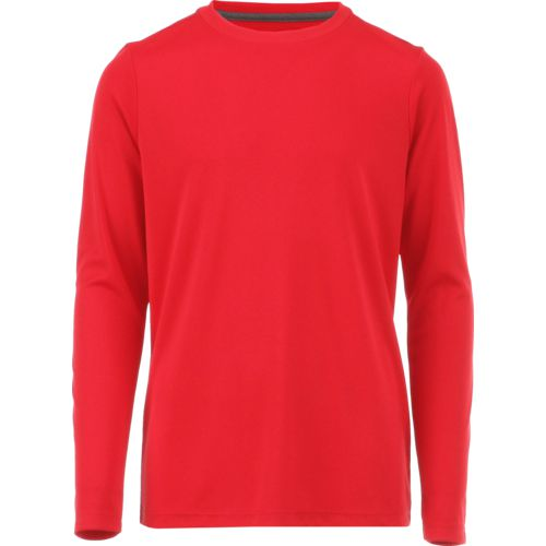 Display product reviews for BCG Boys' Solid Turbo Long Sleeve T-shirt